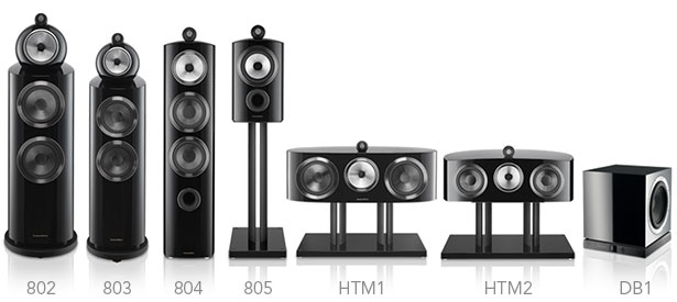 Bowers and Wilkins 800 Series Diamond Product Line